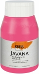 Javana Stoffmalfarbe | Pink | 500 ml